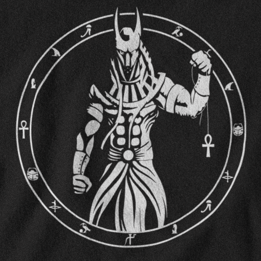ANUBIS T-SHIRT - EGYPTIAN PANTHEON