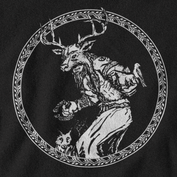 CERNUNNOS T-SHIRT - CELTIC MYTHOLOGY
