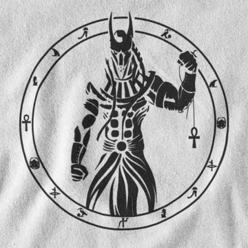 INVERTED ANUBIS T-SHIRT - EGYPTIAN PANTHEON