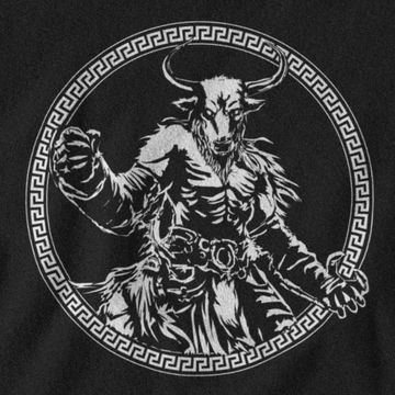 MINOTAUR T-SHIRT - GREEK PANTHEON