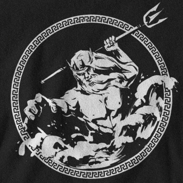 POSEIDON T-SHIRT - GREEK PANTHEON