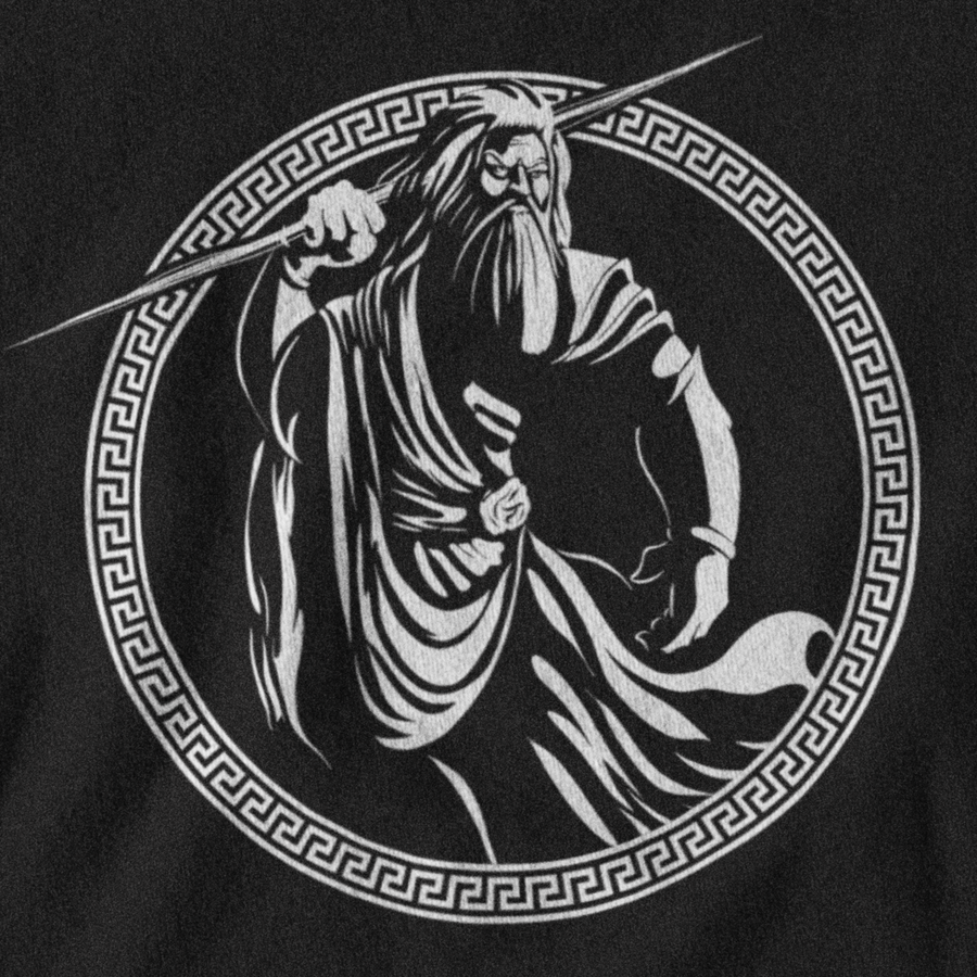 ZEUS T-SHIRT - GREEK PANTHEON