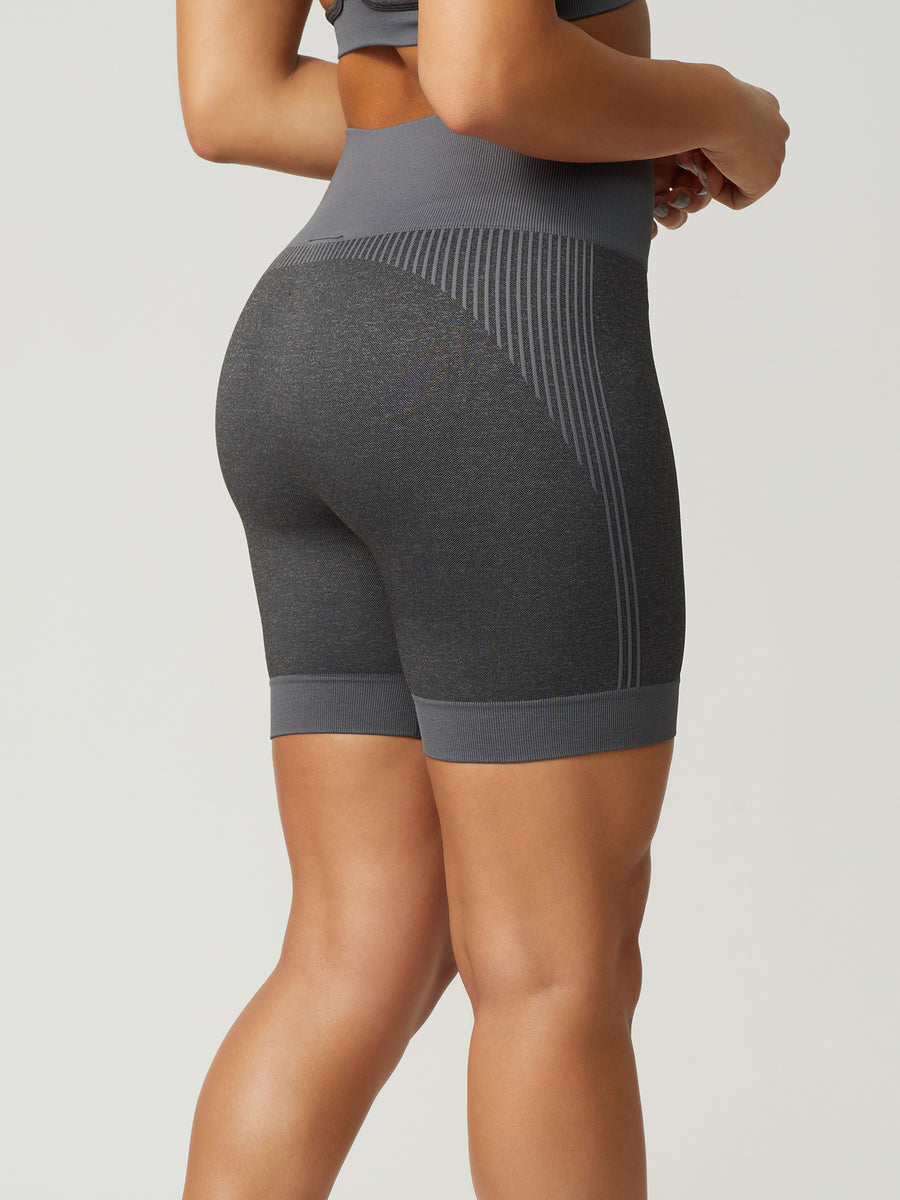 NEW Revival Seamless Bike Shorts - Charcoal