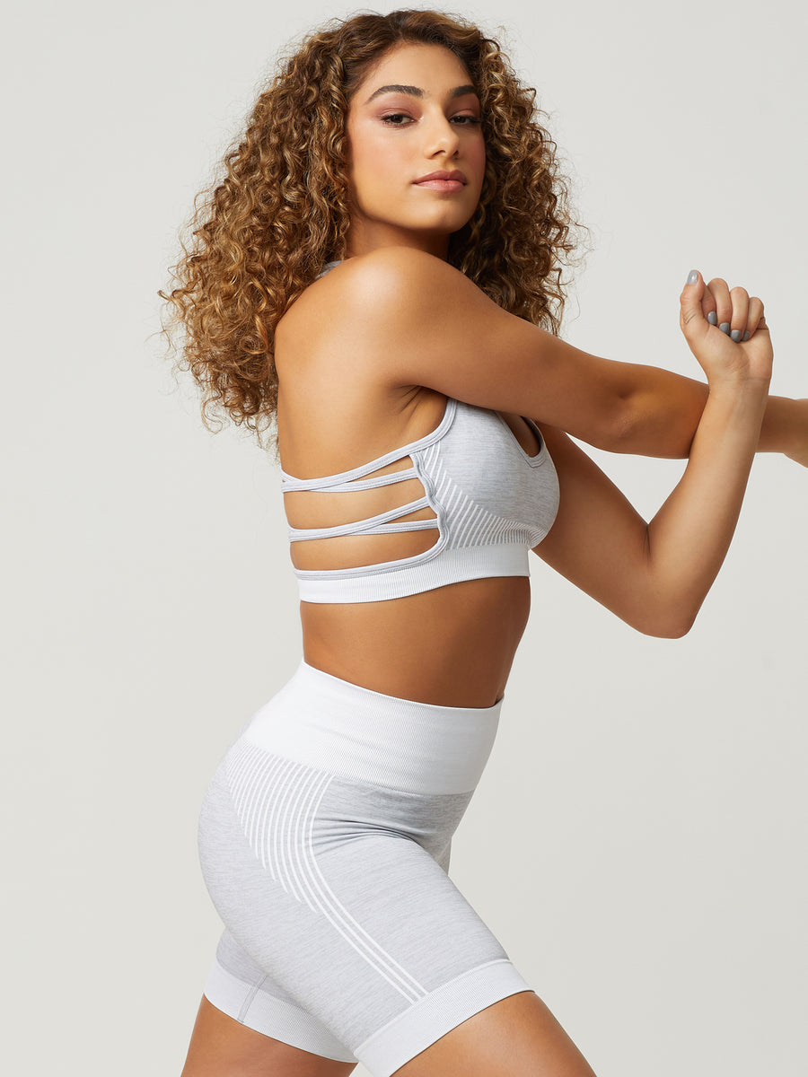NEW Revival Seamless Sports Bra - Grey