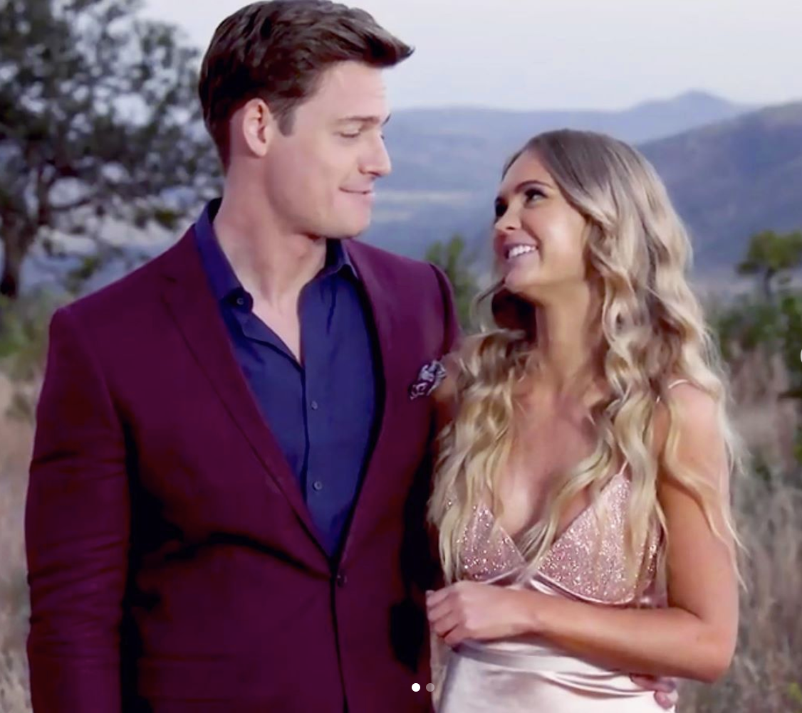 Bachelor AU Rose GEMELI POWER VIKTORR GOWN 2