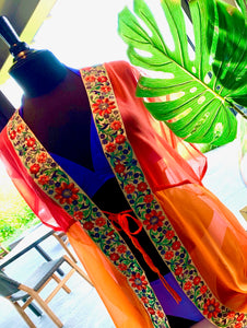 Kaftan - sunset ombre