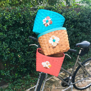 Bike Basket - Coral Shell