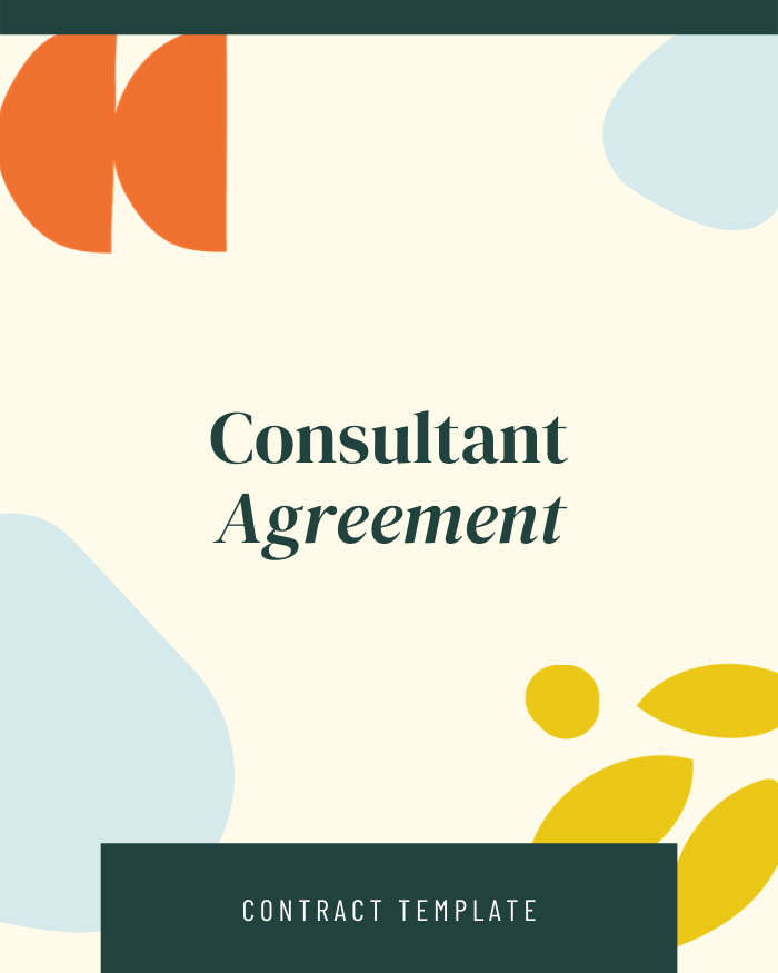 Consulting Agreement - Contracts Market