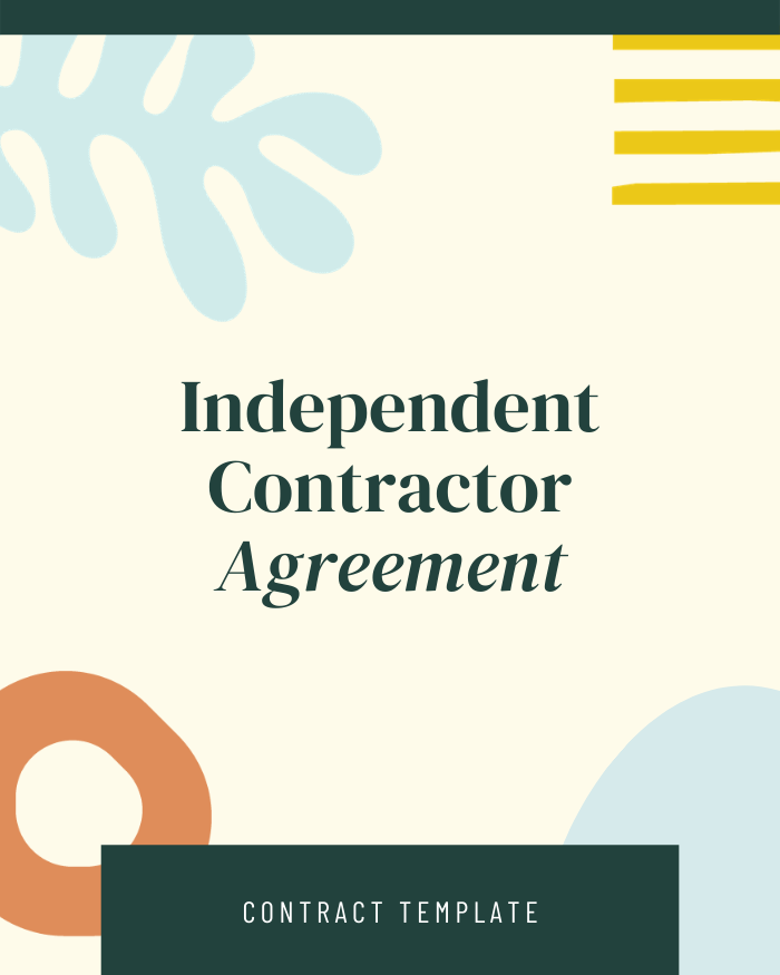 Independent Contractor Agreement - Contracts Market
