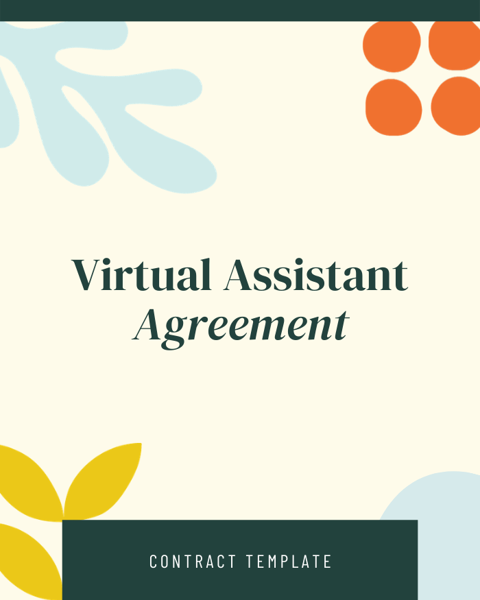 Virtual Assistant Agreement - Contracts Market