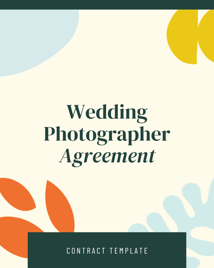 Wedding Photographer - Contracts Market