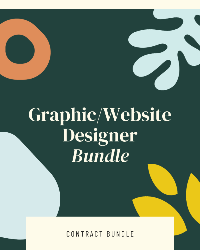 Graphic/Website Design Bundle - Contracts Market
