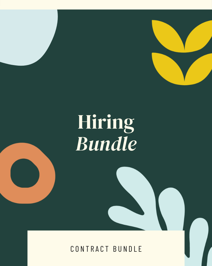 Hiring Bundle - Contracts Market