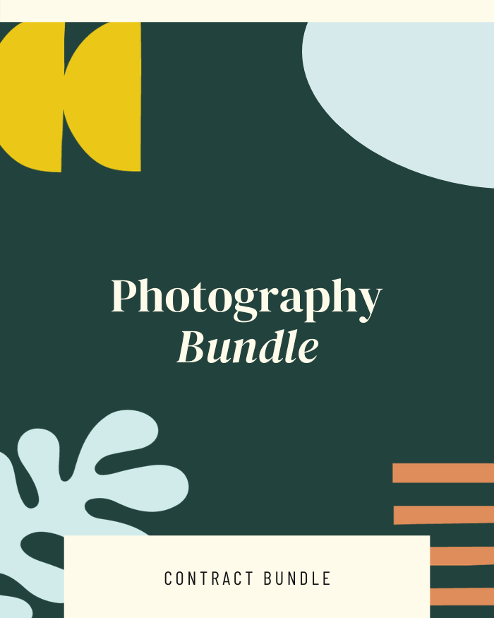 Photography Bundle - Contracts Market