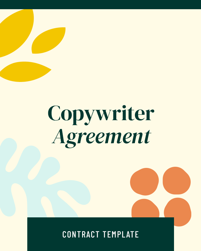 Copywriter Agreement - Contracts Market