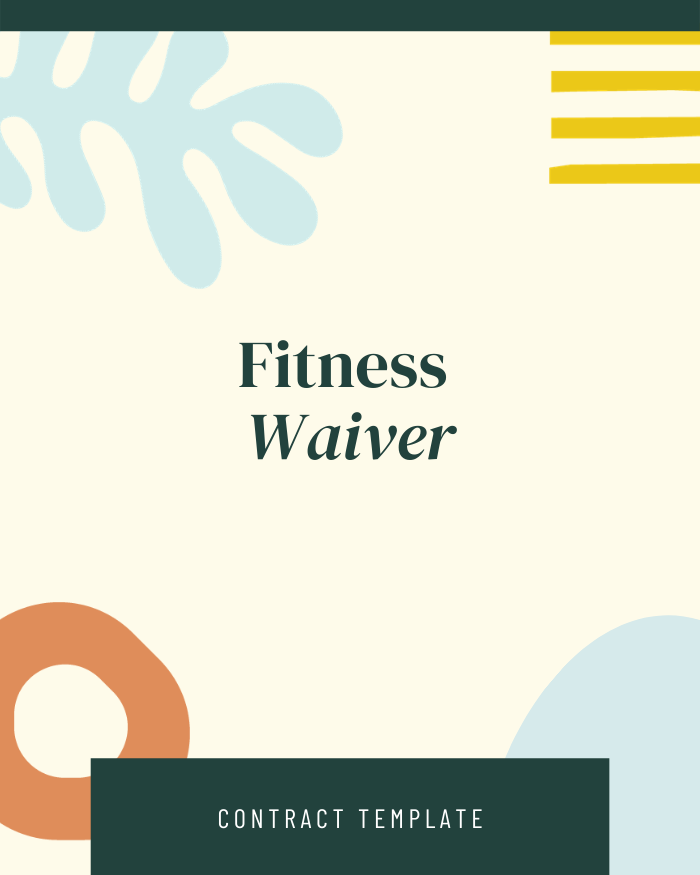 Fitness Waiver - Contracts Market