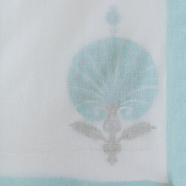Dancing Peacock Pure Muslin, Reversible AC Comforter for Single Bed (60x90 inch)-Malmal Comforters-CottonLanes
