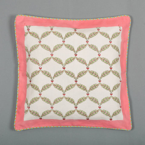 Found In Maze Canvas Cushion Covers Set of 5-Cushion Covers-CottonLanes