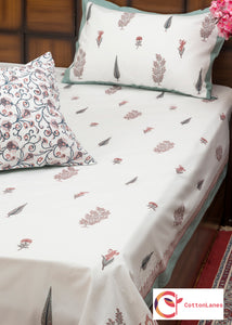 Garden of Five Senses Bedsheet & Comforter Set