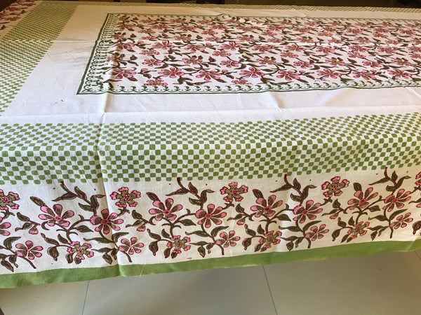 Pink Poppy Bedsheet - Single Bed - CottonLanes
