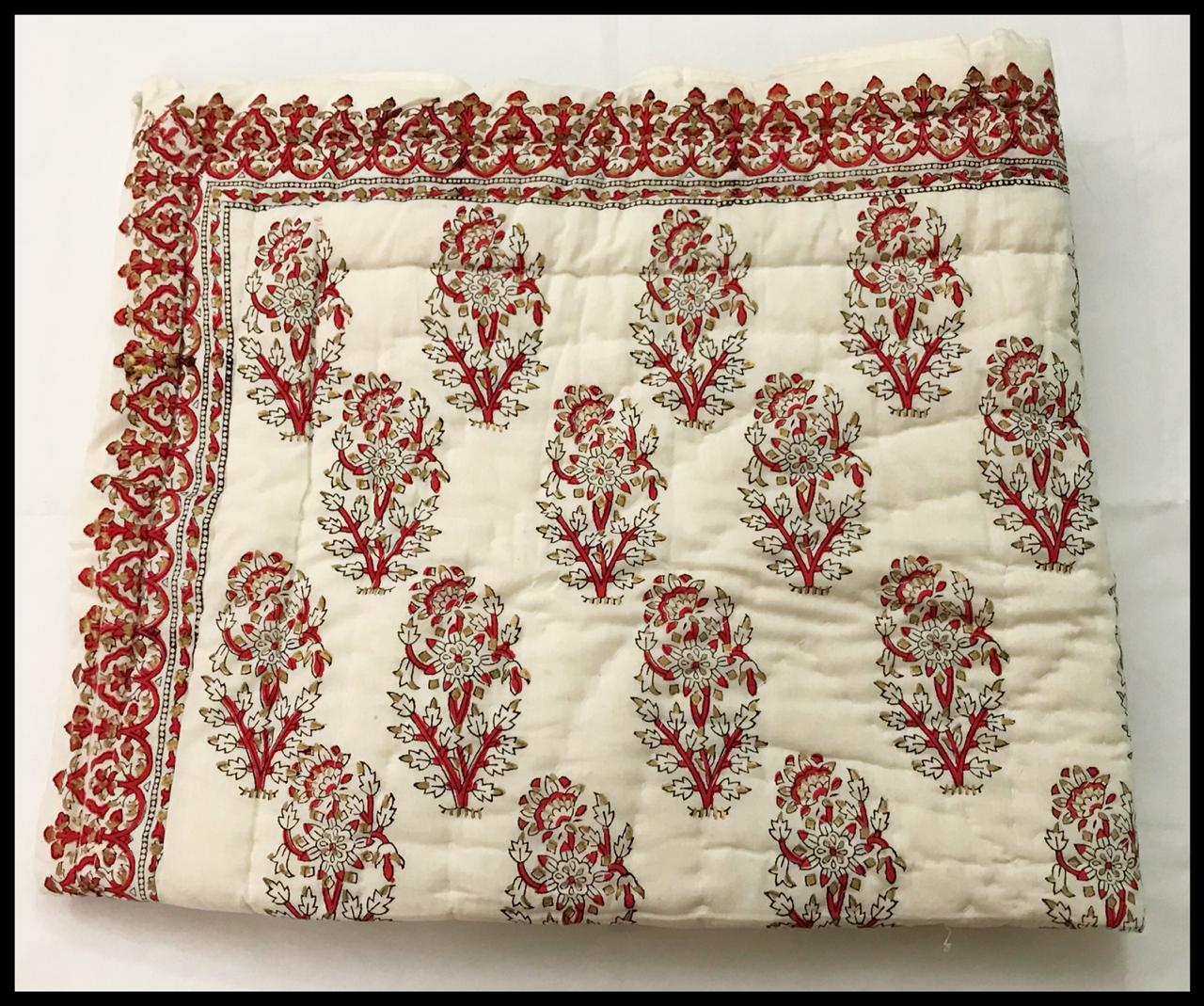 Red Velvet - Baby Quilts-Kids Quilts-CottonLanes