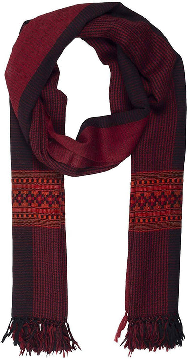 Women's Scarf (Black & Red)