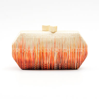 Orange Clutch Purse - Handmade Clutch | LIKHÂ