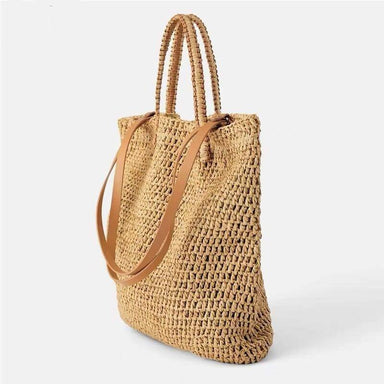 Woven Hollow Beach Bags Summer Female Straw Bag Bohemia Large Capacity Tote