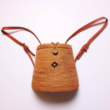 Handmade Woven Rattan Backpacks