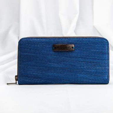Natural Handwoven Handcrafted Vegan Wallet