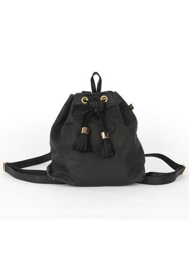 MICHEL LEATHER BACKPACK