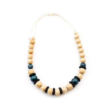 Natural Handmade Wooden Necklace | LIKHÂ
