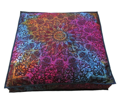 "New 35"" Large Square Pillow Cushion Cover Indian Floor Decorative Beautiful Print Hippie"
