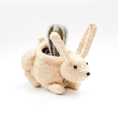 vintage rabbit planter