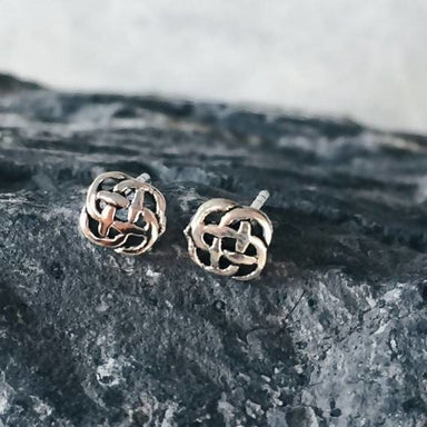 Celtic not stud Earrings in silver - Earrings