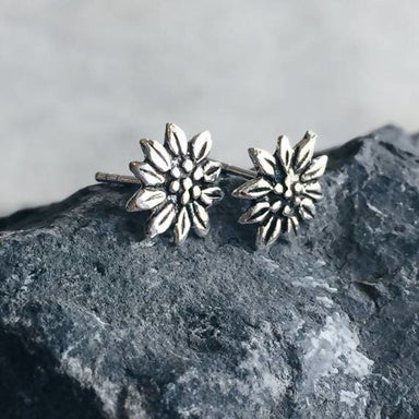 Christmas flower design stud Earrings - Earrings