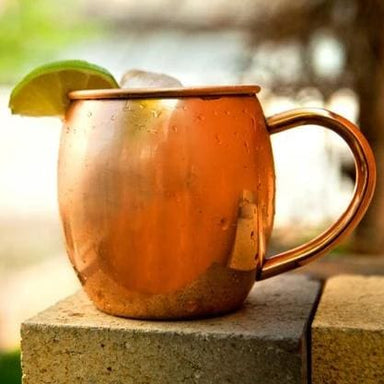 Handmade Barrel-shaped Cocktail Mug in Copper - Kitchen Decor