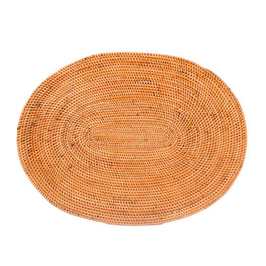 HONEY RATTAN OVAL PLACEMAT