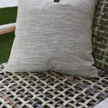 Straw Pattern - Hand Loomed Cushion