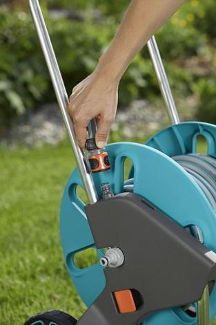 Hose Trolley AquaRoll M Easy - GARDENA - ClickLeaf