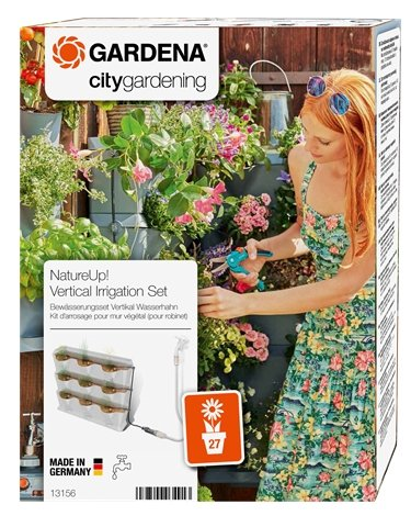 NatureUp! Irrigation Set Vertical Water Tap - GARDENA - ClickLeaf