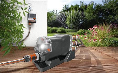 Water Distributor Automatic - 6 Way - GARDENA - ClickLeaf