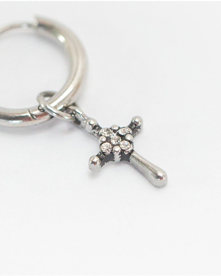 ANTIQUE CROSS RING PIERCING Piercing pink-rocket