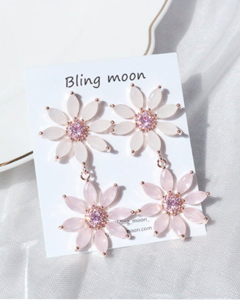 Blossom Daisy Earring Earrings bling moon