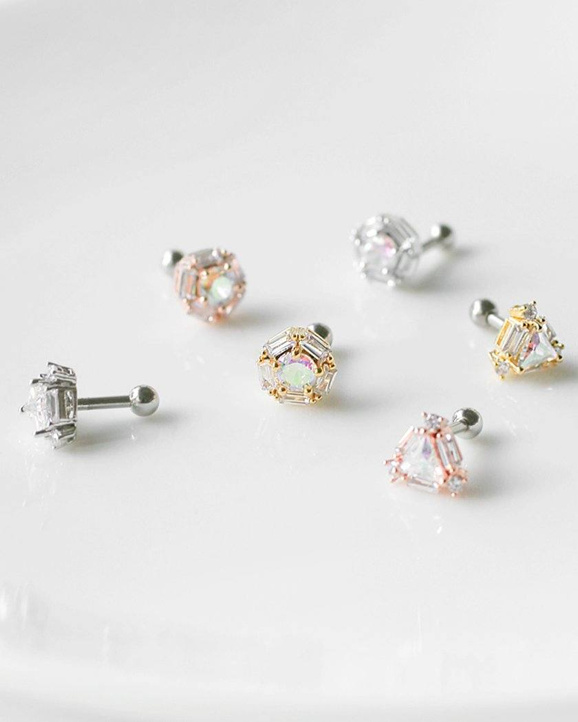CUTTING ICE BARBELL PIERCING Piercing pink-rocket