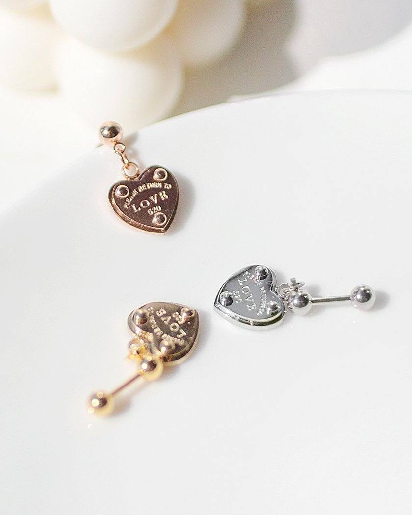 LOVE LOCK JEWELRY BARBELL PIERCING Piercing pink-rocket