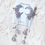Lunamoon Drop Earring Earrings bling moon