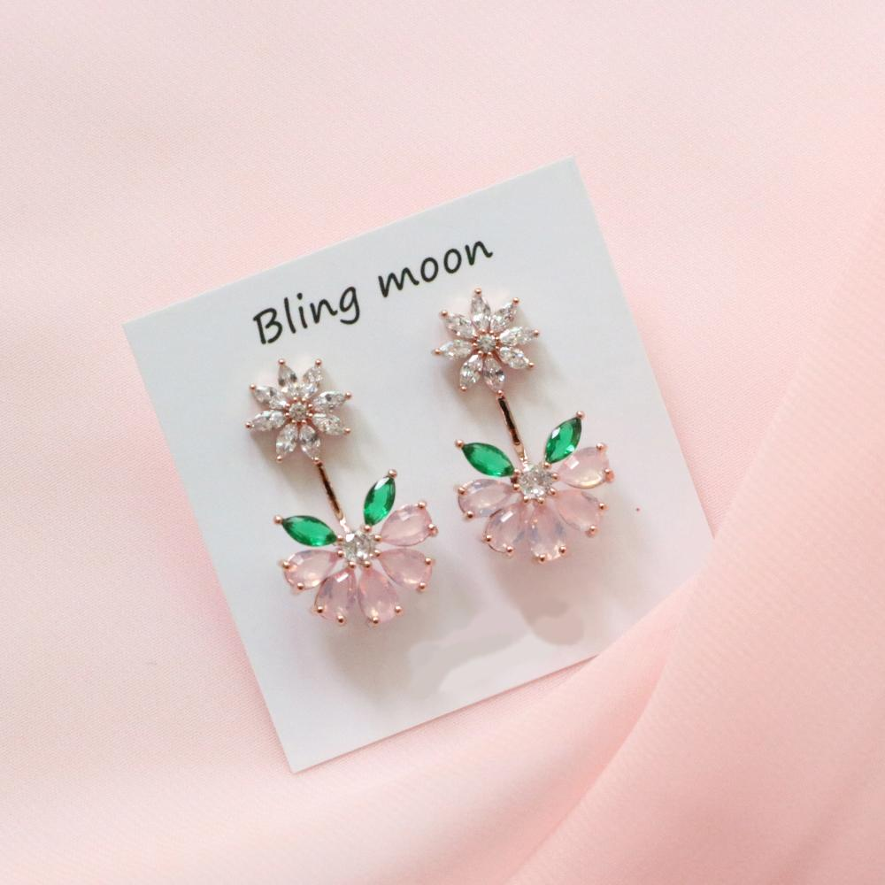 Mini Cherry Blossom Earrings Earrings bling moon