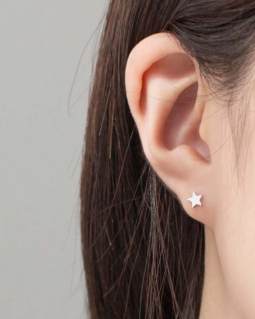 MINI FIGURE EARRING SET [8個セット] Earrings pink-rocket