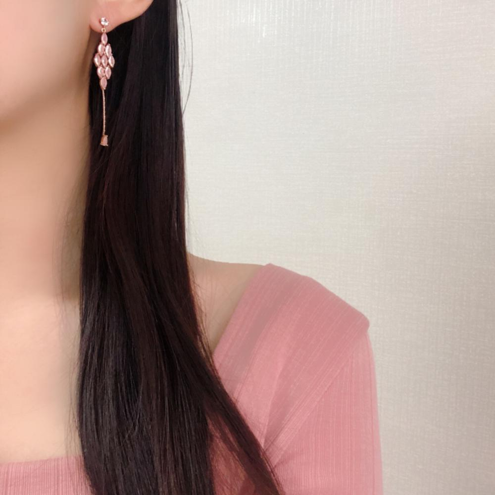 ライトピアス Earrings bling moon
